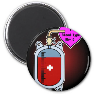 Blood type O Magnet