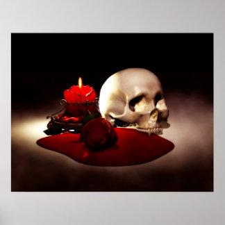 Blood Velvet Print
