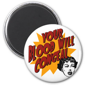 Blood with Congeal Fridge Magnet