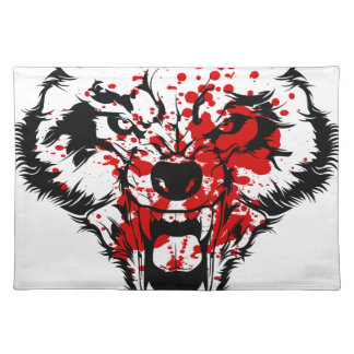 Blood Wolf Placemat