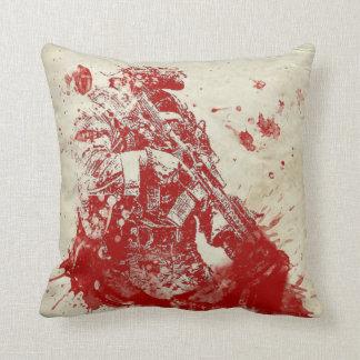 Bloodbath Throw Pillow