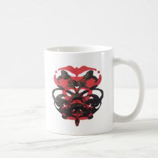 Bloodblot Inkblot Art Coffee Mug