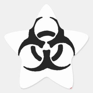 bloodborne pathogens star sticker