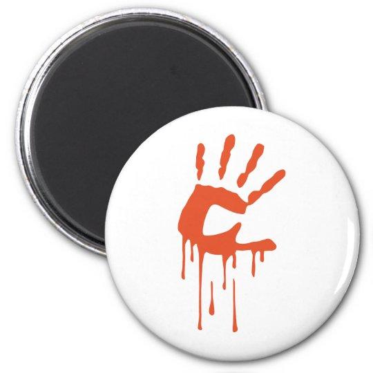 Bloodhand 2 Inch Round Magnet