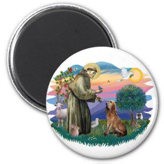 Bloodhound 2 Inch Round Magnet