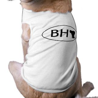 Bloodhound abbreviation BH T-Shirt