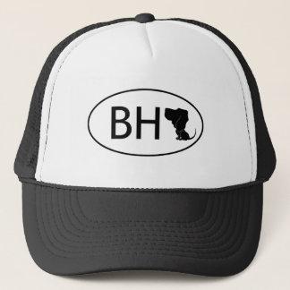 Bloodhound abbreviation BH Trucker Hat