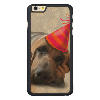 Bloodhound After the Party Carved® Maple iPhone 6 Plus Slim Case