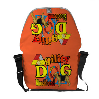 Bloodhound Agility Dog Courier Bag