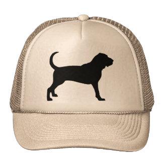Bloodhound (black) trucker hat