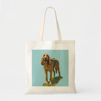 Bloodhound Budget Tote Bag