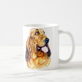 Bloodhound Bust Classic White Coffee Mug