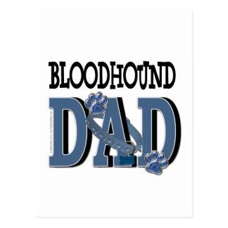 Bloodhound DAD Postcard