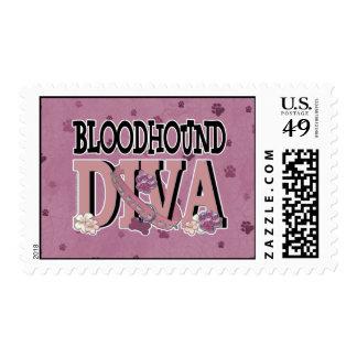 Bloodhound DIVA Stamp