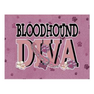 Bloodhound DIVA Postcard