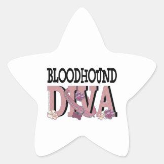 Bloodhound DIVA Star Sticker