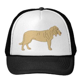 Bloodhound Dog Trucker Hat
