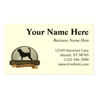 Bloodhound Double-Sided Standard Business Cards (Pack Of 100)