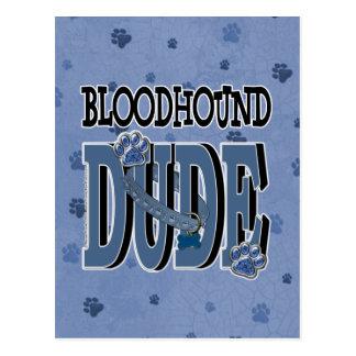 Bloodhound DUDE Postcard