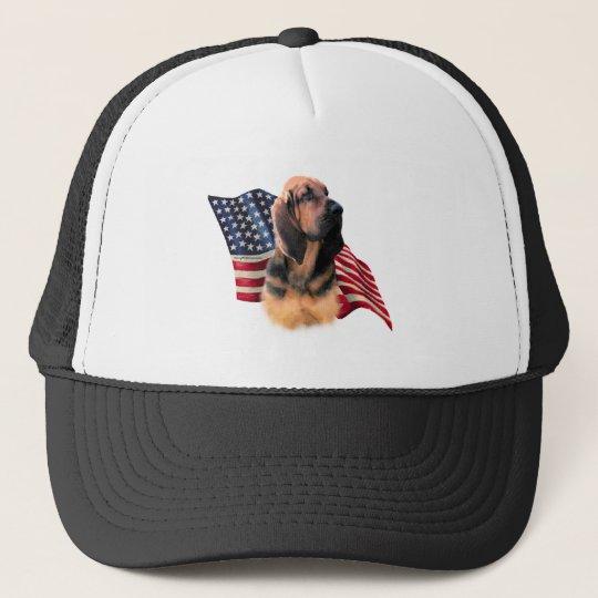 Bloodhound Flag Trucker Hat