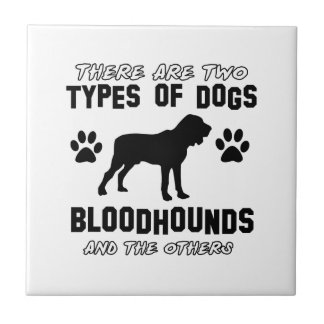 BLOODHOUND gift items Tile