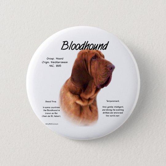 Bloodhound History Design Button