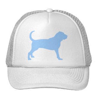Bloodhound (light blue) trucker hat