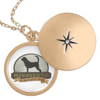 Bloodhound Locket Necklace