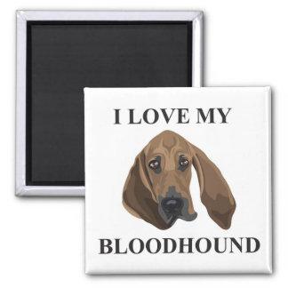 Bloodhound Love Fridge Magnet