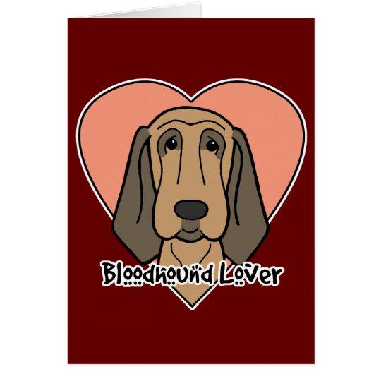 Bloodhound Lover Card