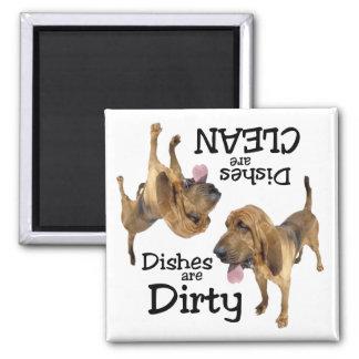 Bloodhound Lovers Dishwasher Magnet