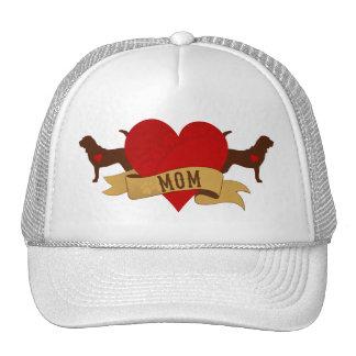 Bloodhound Mom [Tattoo style] Trucker Hat