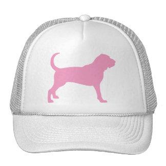 Bloodhound (pink) trucker hat