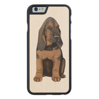 Bloodhound Puppy Carved® Maple iPhone 6 Slim Case