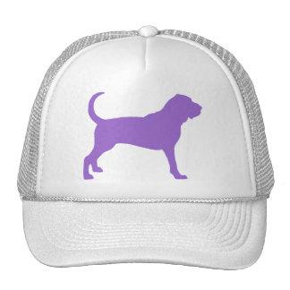 Bloodhound (purple) trucker hat