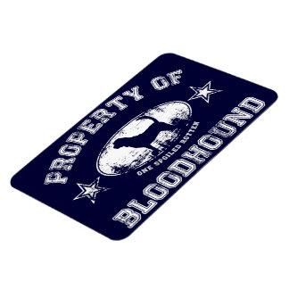Bloodhound Rectangular Photo Magnet