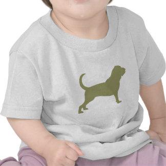 Bloodhound (sage green) tee shirts