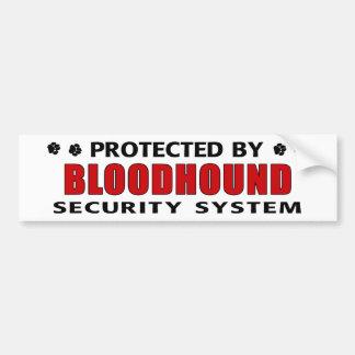 Bloodhound Security Bumper Sticker