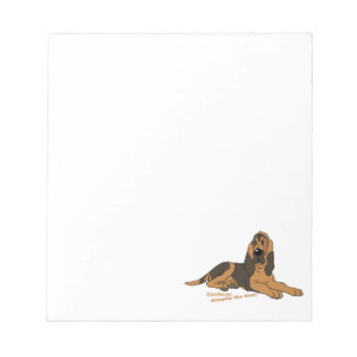 Bloodhound - Simply the best! Notepad