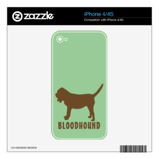 Bloodhound Skins For iPhone 4S