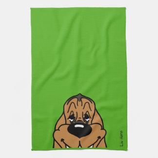 Bloodhound Smile Towel
