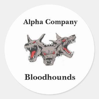 Bloodhound Stickers