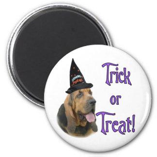 Bloodhound Trick 2 Inch Round Magnet