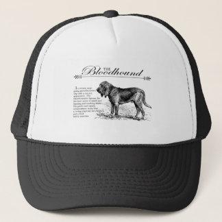 Bloodhound Vintage Storybook Style Trucker Hat