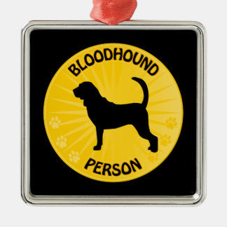 Bloodhound Xing Ornaments