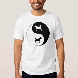 Bloodhound Yin Yang Tees