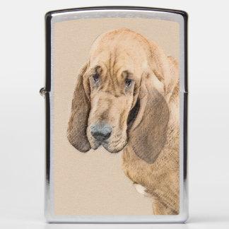 Bloodhound Zippo Lighter