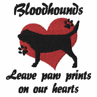 Bloodhounds Leave Paw Prints