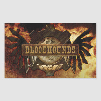 Bloodhounds Logo Sticker (Rectangle)
