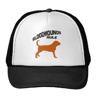 Bloodhounds Rule Trucker Hat
